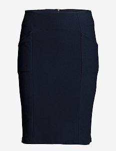 Karin skirt - BLACK IRIS
