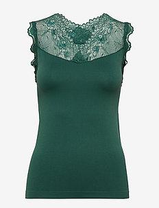 Vanessa top - topy bez rękawów - hunter green