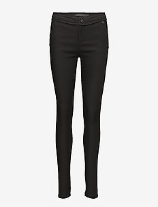 Carma Pants - broeken med skinny fit - black