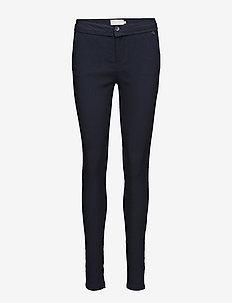 Carma Pants - bukser med smalle ben - black iris