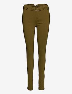 Carma Pants - spodnie rurki - olive