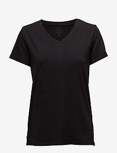 Adele tee - t-shirts - black