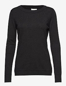Rilla pullover - pulls - black