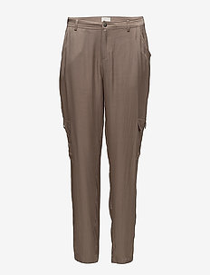 Anthonia pants - straight leg trousers - fossil