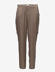 Anthonia pants - bukser med lige ben - fossil