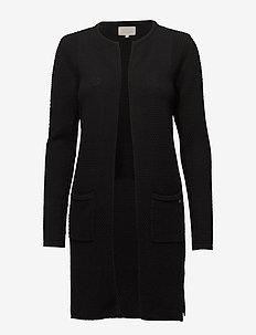 Vibe cardigan - gilets - black