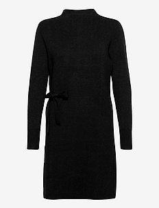 Bernice knit dress - gebreide jurken - sort