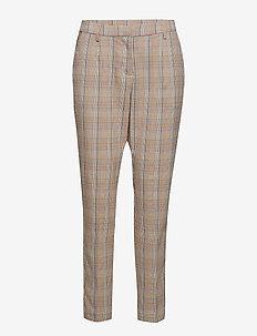 Cathrine pants - spodnie proste - chequered