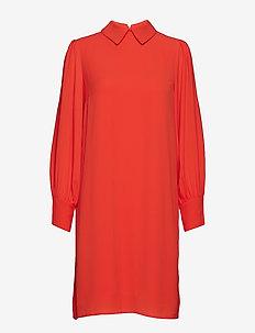 Madeline dress - skjortekjoler - grapefruit