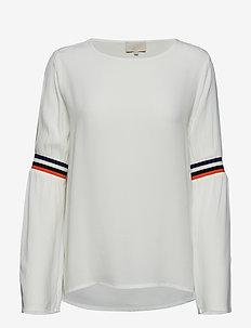 Elliana blouse - pulls - broken white