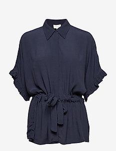 Ariana shirt - BLACK IRIS