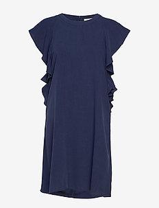 Fabia dress - midi dresses - black iris