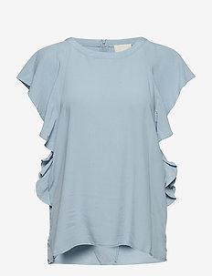 Fabia top - ICY BLUE