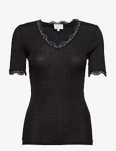 Ariel short sleeve - basic t-shirts - black