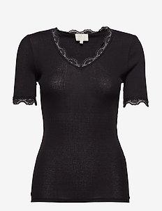 Ariel short sleeve - basic t-shirts - sort