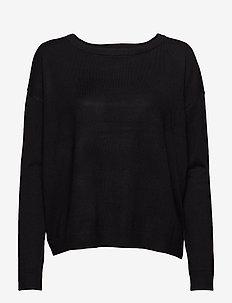 Elne knit - trøjer - black
