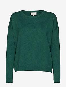 Elne knit - HUNTER GREEN MELANGE