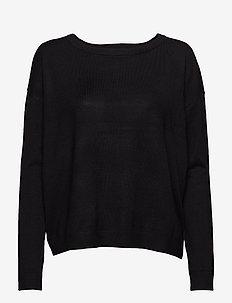 Elne knit - trøjer - sort