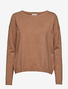 Elne knit - TOBACCO MELANGE