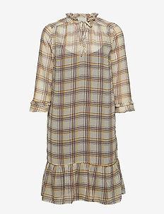 Leva dress - CHEQUERED