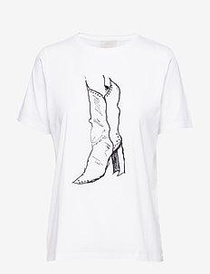 Essi tee - t-skjorter med trykk - cloud dancer