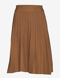Sola knit skirt - TOBACCO
