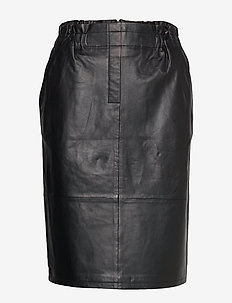 Paia leather skirt - SORT