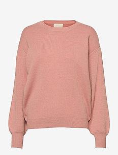 Lupi knit pullover - truien - powder rose