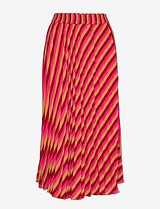 Nita skirt - midi skirts - striped