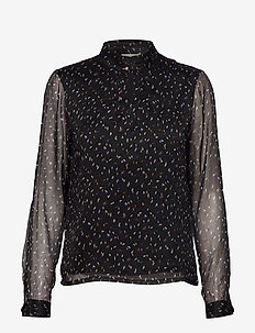 Deka blouse - blouses med lange mouwen - flake print