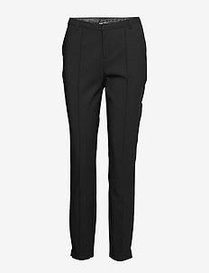 Tracey pants - straight leg trousers - sort