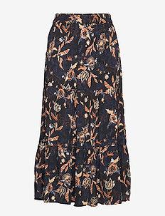 Birla skirt - DARK FLORAL PRINT