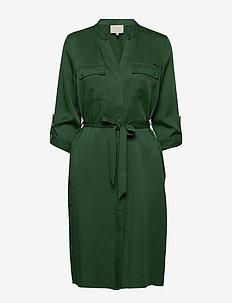 Emissa shirt dress - skjortekjoler - palm tree