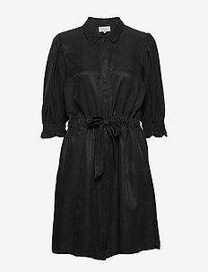 Luciana dress - robes chemises - sort