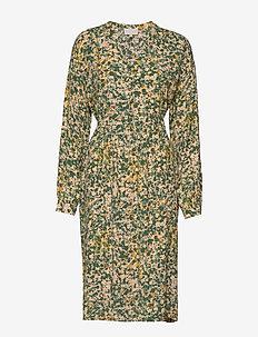 Monja dress - midi dresses - camouflage print