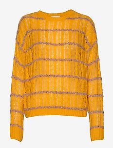 Inas knit pullover - pulls - sunflower