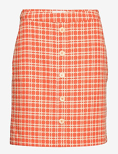 Nanja skirt - short skirts - chili checked