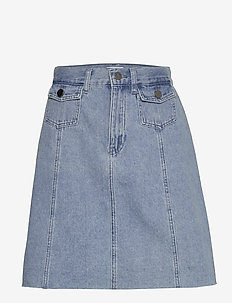 Lucca denim skirt - denim skirts - denim melange