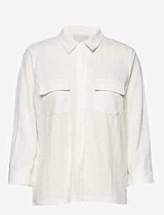 Elenore shirt - long-sleeved shirts - cloud dancer
