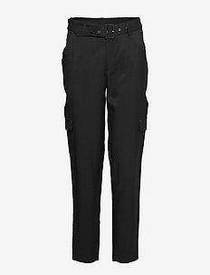 Limba Cargo pants - straight leg trousers - sort