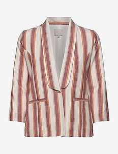 Mickie blazer - blazers - mineral red stripes