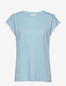 Leti tee - t-shirts - bounty blue