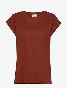 Leti tee - t-shirts - safran