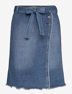 Sherine denim skirt - denim skirts - denim
