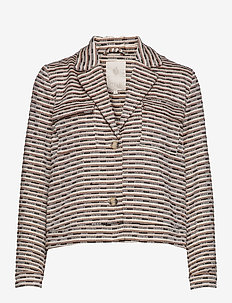 Kika jacket - blazers - brown sugar stripes