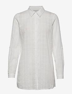 Melfi shirt - long-sleeved shirts - cloud dancer