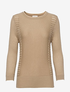 Ria knit pullover - pulls - nomad sand