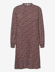 Vallie dress - short dresses - fiery flower print
