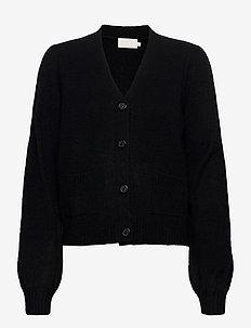 Angie knit cardigan - swetry rozpinane - sort