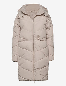 Georgina coat - wyściełane kurtki - creme